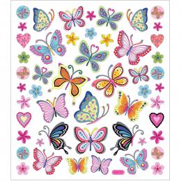 Naklejki Kolorowe Motyle