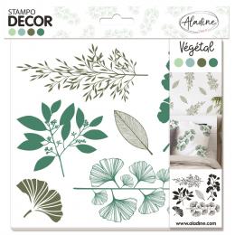Stemple Dekor Roślinne