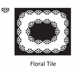 Floral Tile - Wkład...