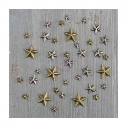 Metalowe Dodatki - Mini Stars