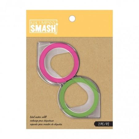 Taśma wymienna Zielona i Różowa SMASH