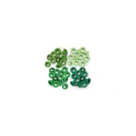 Oczka - Zielone