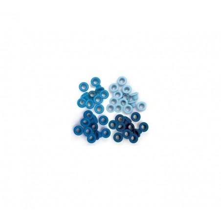 Oczka - Niebieski
