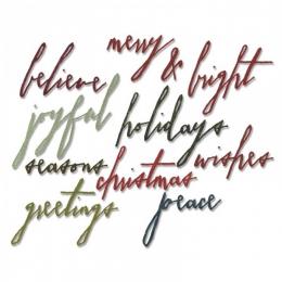 Sizzix Thinlits Die - Holidays