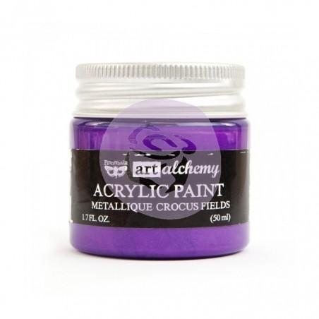 Art Alchemy - Akrylowa Metaliczna Farba - Crocus Fields