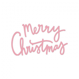 Wykrojnik - Napis Merry...