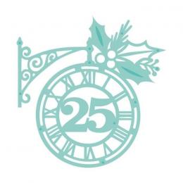 Wykrojnik - Christmas Clock