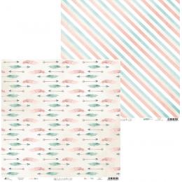 """Papier 12""""x12"""" Cute & Co. 02"""