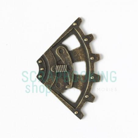 Narożnik górny 03 46x46mm steampunk