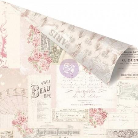 "Papier 30x30cm Love Story ""Memories Left in Notes"""