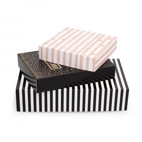 Zestaw 3 pudełka na prezenty - Everyday