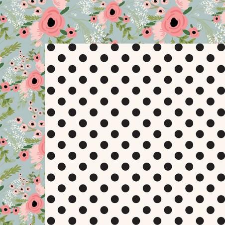 Full Bloom - Papier 30x30 - Posie