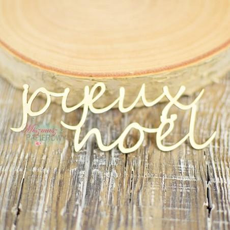 Tekturka - Napis joyeux noel
