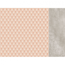 Papier 12x12 Peachy - Aura