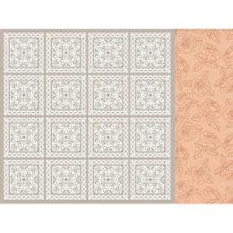 Papier 12x12 Peachy - Taupe