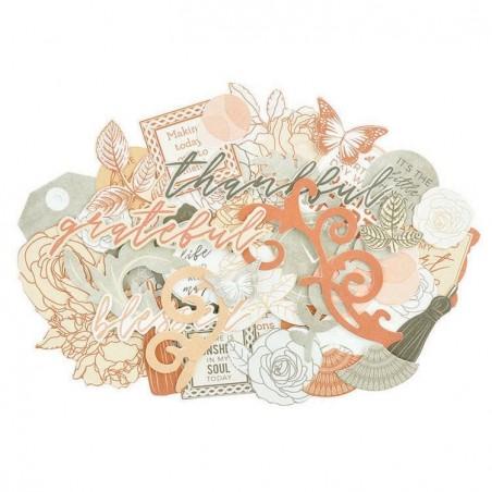 Zestaw wyciętych elementów - Collectables - Peachy