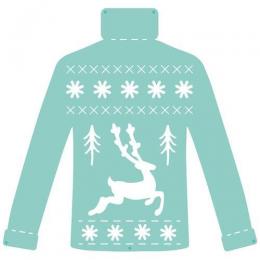 Wykrojnik - Christmas Knit...