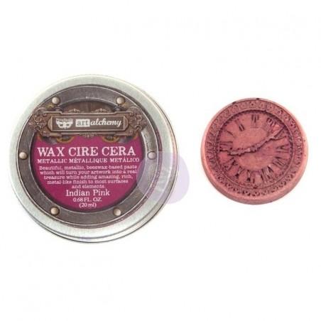 Wosk Art Alchemy - Metallique Wax - Indian Pink