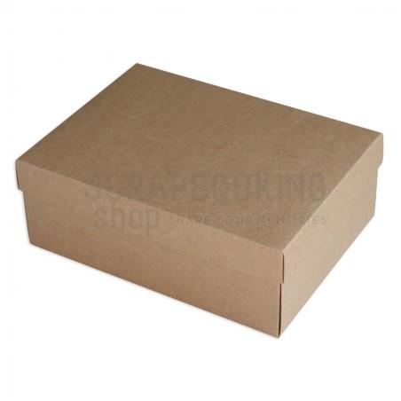 Pudełko na album retro mini 18,5 x 24 x 4,5 cm - kraft