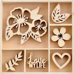 Drewniane dekoracje w...