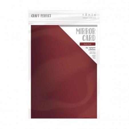 Papier A4 Mirror Card Gloss - Rustic Dust