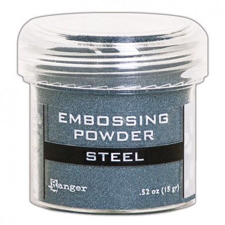 Metaliczny puder do embossingu - Steel