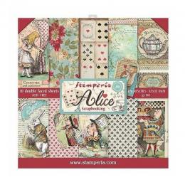 Blok papierów 12x12 - Alice...