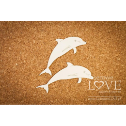 Tekturka - Delfiny