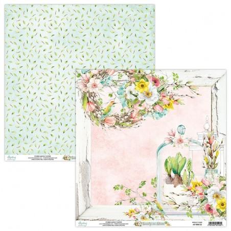Papier 12x12 03 - Beauty in Bloom - Mintay by Karola
