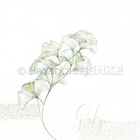 Papier 30,5 cm x 30,5 cm - Ginkgo branch