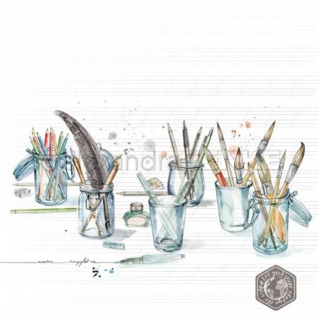 Papier 30,5 cm x 30,5 cm - Artist desk