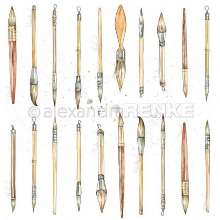 Papier 30,5 cm x 30,5 cm - Brushes