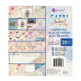 Zestaw papierów 6x6 - Capri