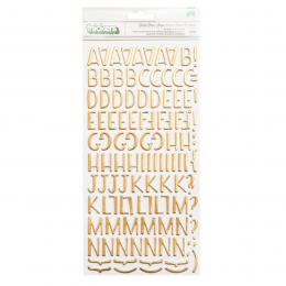 Naklejki Tekturowe Alfabet...