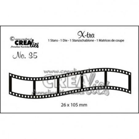 Wykrojnik Crealies - X-tra  - Klisza foto, taśma filmowa