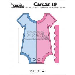 Wykrojniki Crealies Cardz -...