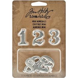 Metalowe numerki - Mini...