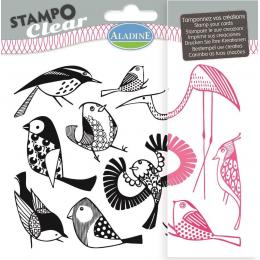 Stemple silikonowe Ptaki