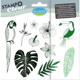 Stemple silikonowe Dżungla