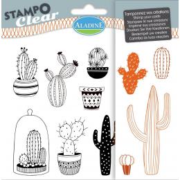 Stemple silikonowe Kaktusy