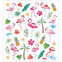 Naklejki Flamingi