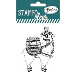 Stempel silikonowy Lama