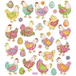 Naklejki Wielkanocne Kurki