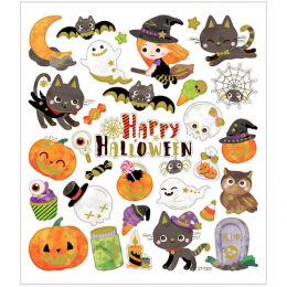 Naklejki Halloween Urocze...