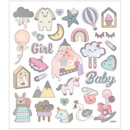 Naklejki Dziewczynka Baby Girl