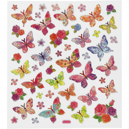Naklejki Motyle w Kwiatuszki