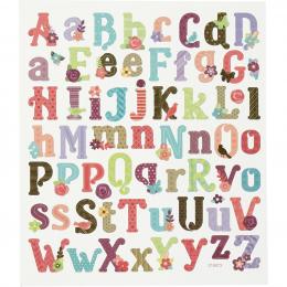 Naklejki Alfabet Wiosenny