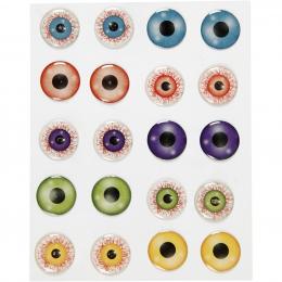 Naklejki 3D Potworne Oczy