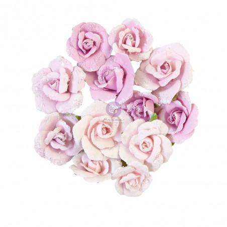 Kwiaty papierowe - Watercolor Floral - Grey Pigment