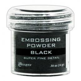 Puder do embossingu - Black...
